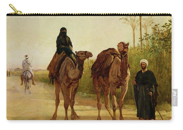 The Travellers, 1874  Carry-all Pouch