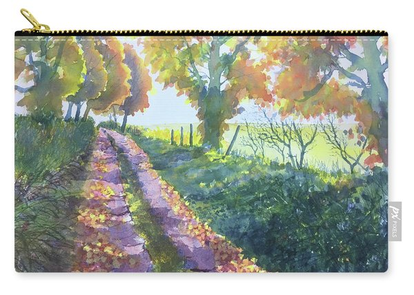 The Tunnel In Autumn Carry-all Pouch
