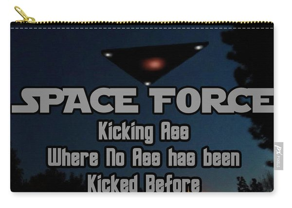 The United States . Space Force Carry-all Pouch