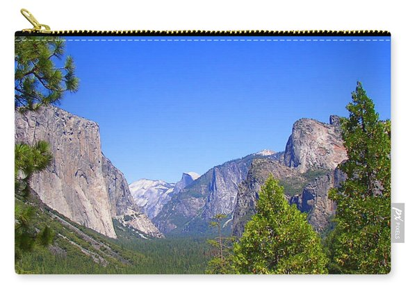 The Valley Of Inspiration-yosemite Carry-all Pouch