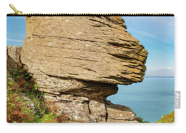 The Valley Of The Rocks Carry-all Pouch