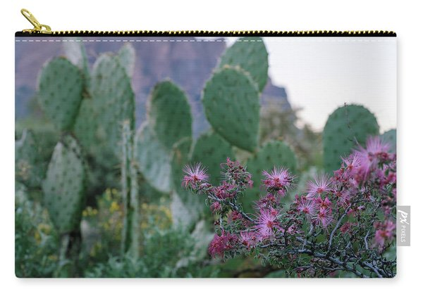 The Vibrant Desert Carry-all Pouch