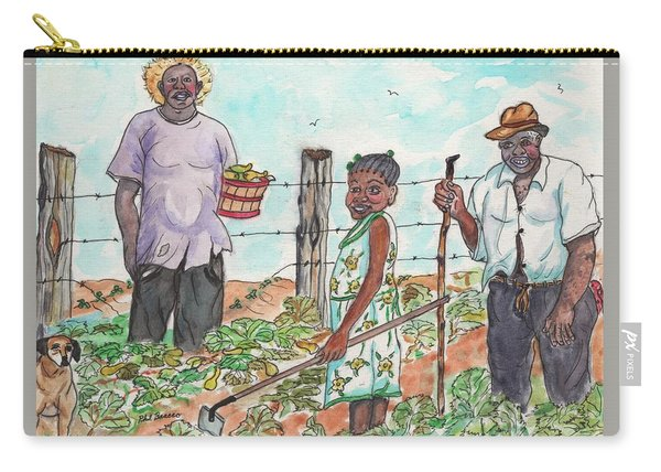 The Washington's - Our Neighbors On The Farm Carry-all Pouch
