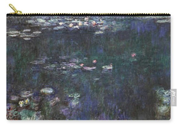 The Water Lilies - Green Reflections - Digital Remastered Edition Carry-all Pouch