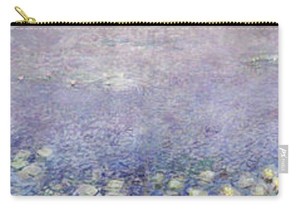 The Water Lilies, Morning - Digital Remastered Edition Carry-all Pouch