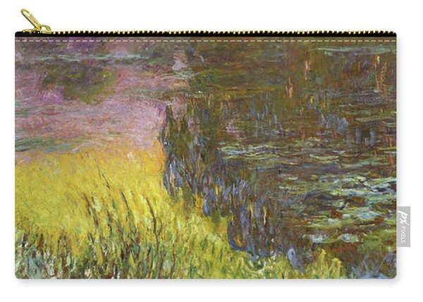 The Water Lilies, Setting Sun - Digital Remastered Edition Carry-all Pouch