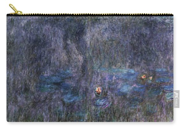 The Water Lilies ,tree Reflections - Digital Remastered Edition Carry-all Pouch