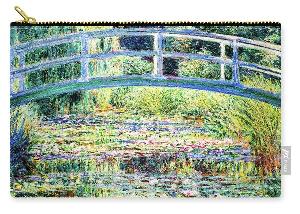 The Water Lily Pond By Monet Carry-all Pouch
