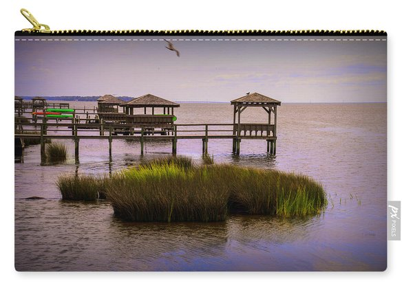 The Waterfront At Duck  Carry-all Pouch
