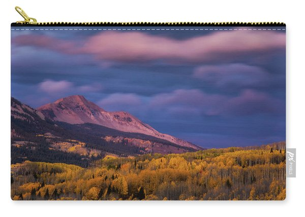 Carry-all Pouch featuring the photograph The Whisper Of Clouds by John De Bord