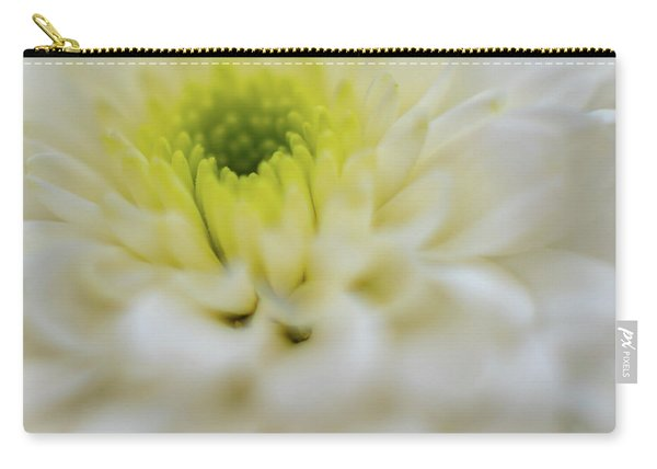 The White Flower Carry-all Pouch