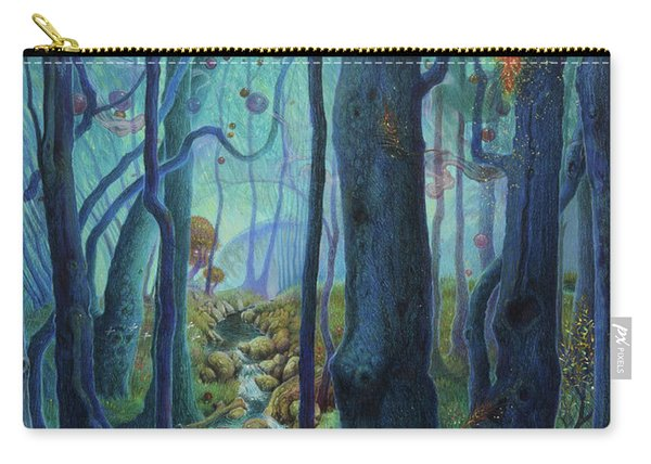 The World Between The Trees Carry-all Pouch