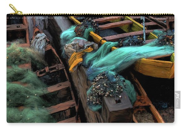 The Yellow Boat Carry-all Pouch
