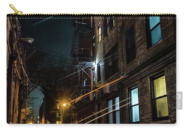 They Drive By Night In Chicago Carry-all Pouch