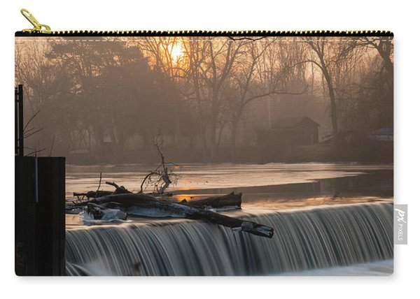 Thiensville Dam In December Carry-all Pouch