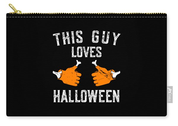 This Guy Loves Halloween Carry-all Pouch