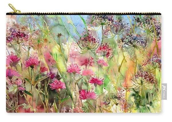 Thistles Impression II Carry-all Pouch