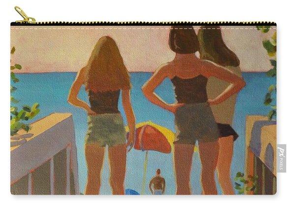 Three Beach Girls Carry-all Pouch