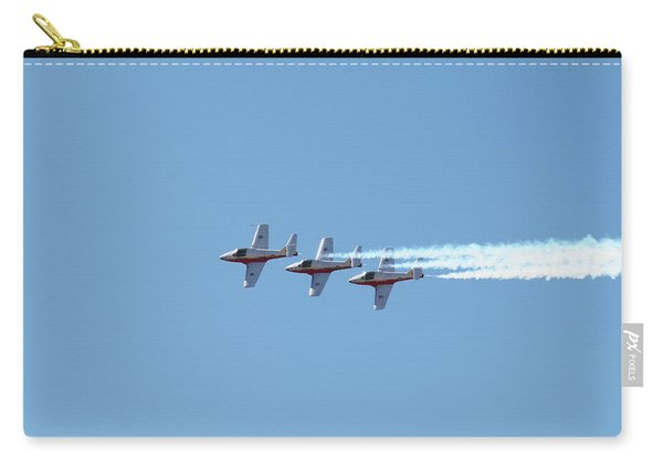 Three Canadian Snowbird Fighters Carry-all Pouch