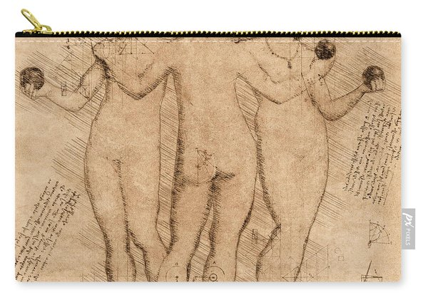 Three Graces - II Carry-all Pouch