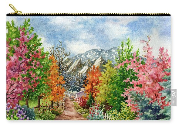 Through All Seasons Carry-all Pouch