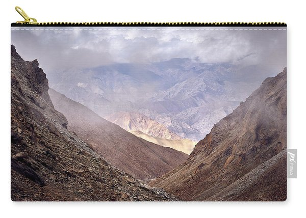 Carry-all Pouch featuring the photograph Through The Valley by Whitney Goodey