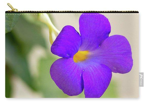 Thunbergia Erecta Bush Clock Vine Carry-all Pouch
