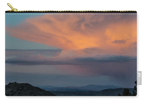 Thunder Over Joshua Tree Carry-all Pouch