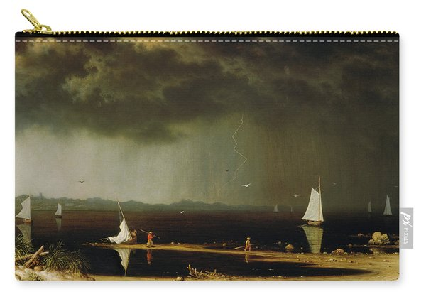 Thunder Storm On Narragansett Bay Carry-all Pouch