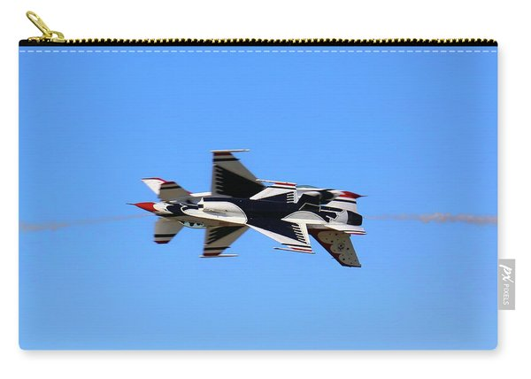Thunderbirds Opposing Pass - Air Force - Air Show Carry-all Pouch