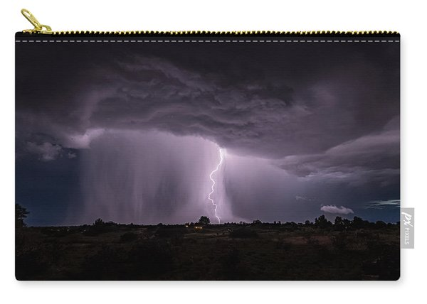 Thunderstorm #4 Carry-all Pouch
