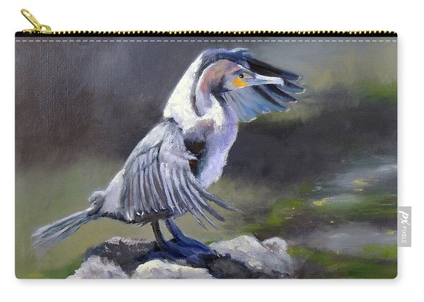 Tiber River Cormorant Carry-all Pouch