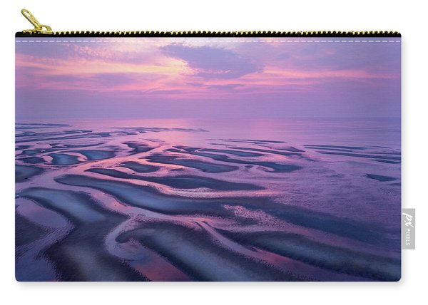 Tidal Flats Sunset Carry-all Pouch