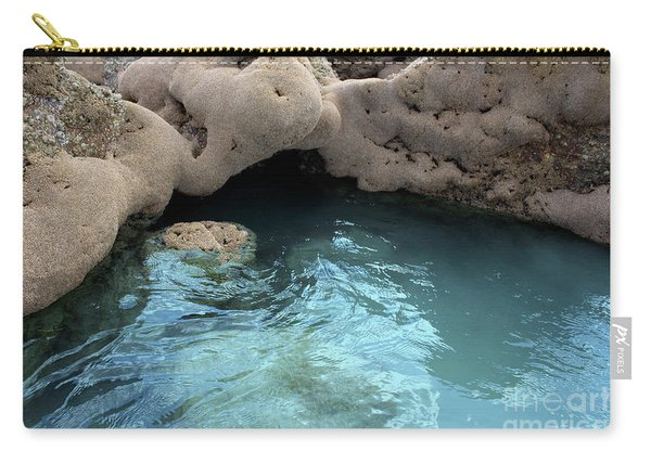 Carry-all Pouch featuring the photograph Tidal Pool 2 by Megan Dirsa-DuBois