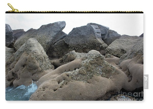 Carry-all Pouch featuring the photograph Tidal Pool 3 by Megan Dirsa-DuBois