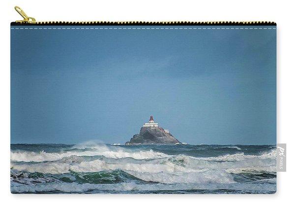 Tillamook Rock Lighthouse Near Cannon Beach Carry-all Pouch
