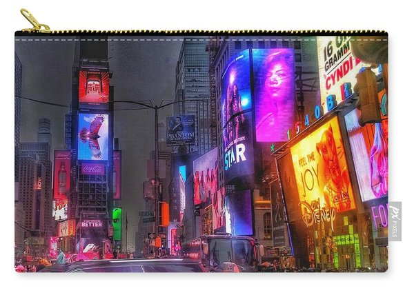 Times Square - The Light Fantastic 2016 Carry-all Pouch
