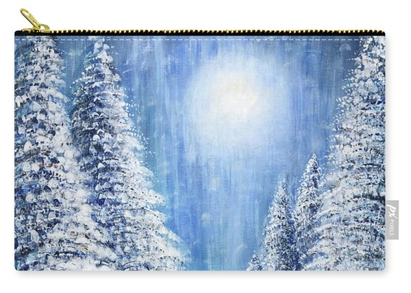 Tim's Winter Forest 2 Carry-all Pouch