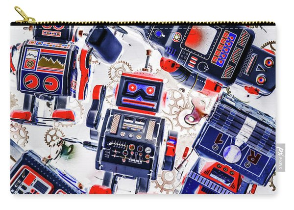Tin Toy Factory Carry-all Pouch