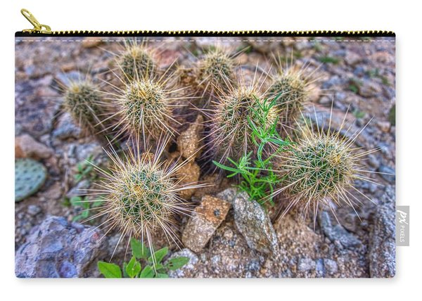 Tiny Cactus Carry-all Pouch