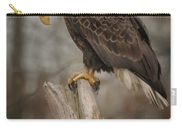 Tired Eagle Dad  Carry-all Pouch