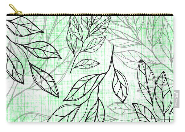 Titoki Leaf Carry-all Pouch