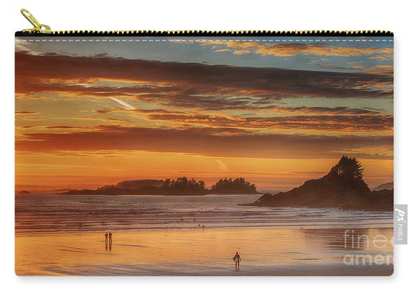 Tofino Beach Sunset 1 Carry-all Pouch