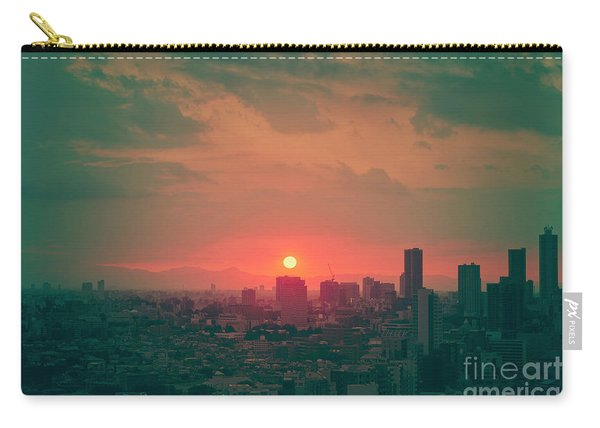 Tokyo Japan Sunset Carry-all Pouch