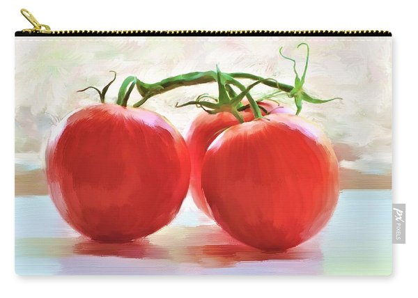 Tomato Gossip Carry-all Pouch