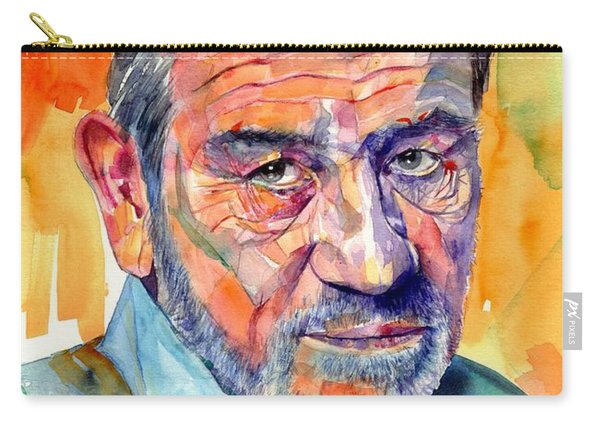 Tommy Lee Jones Watercolor Carry-all Pouch