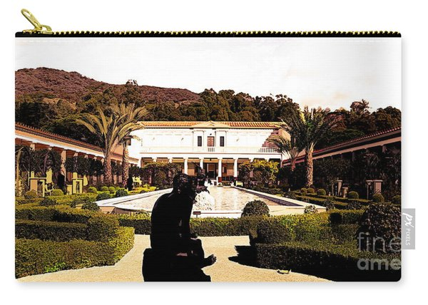Tones Wide View J Paul Getty Villa Carry-all Pouch