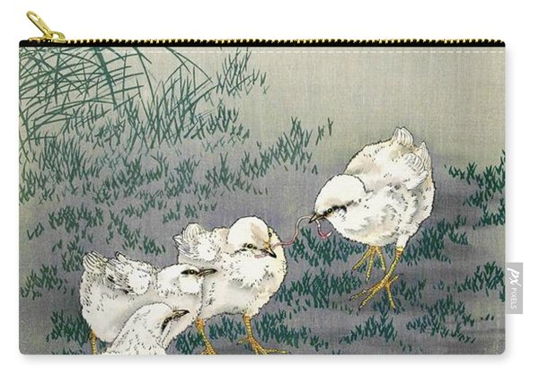Top Quality Art - Five Chicks Carry-all Pouch