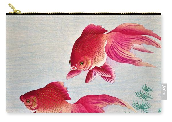 Top Quality Art - Goldfish Carry-all Pouch