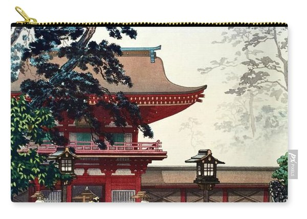 Top Quality Art - Hakozaki Temple Carry-all Pouch